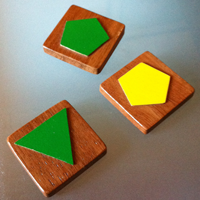 Wooden Symbotica game tiles